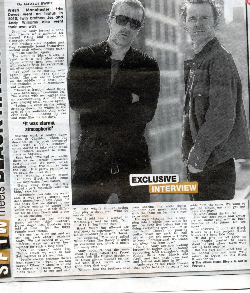 Black Rivers Jez Sun Interview